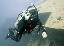 Leren duiken Hurghada Egypte, Nederlandse PADI duikschool Seahorse Divers, Hurghada, PADI Wrak Duiker Specialty duikcursus in Hurghada, Rode Zee, Egypte