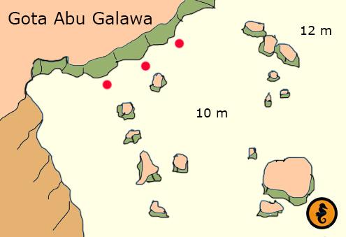 Diving in Hurghada, dive maps Hurghada, Dive map Hurghada, Diving Hurghada, Red Sea, Egypt, Dive sites in Hurghada, Dive spots in Hurghada, Dive locations in Hurghada, gota abu galawa