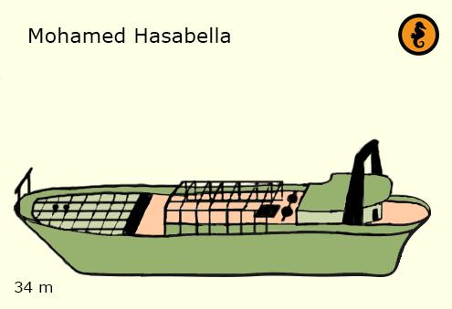 Wrakken en Wrakduiken Hurghada, Rode Zee, Egypte, Wrak Mohamed Hasabella Hurghada. Mohamed Hasabella hurghada, Mohamed Hasabella Hurghada