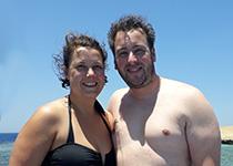 Duiken in Hurghada, Rode Zee, Egypte. Seahorse Divers, Nederlandse PADI duikschool. PADI Open Water Diver cursus in Hurghada, Anne en Karst