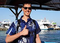 Duiken in Hurghada, Rode Zee, Egypte. Seahorse Divers, Nederlandse PADI duikschool. Duiken in Hurghada, Jesse en Kira