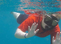 Snorkelen in Hurghada, Rode Zee, Egypte. Seahorse Divers, Nederlandse PADI duikschool. Snorkelen in Hurghada, Dennis