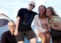 Proefduiken in Hurghada, Rode Zee, Egypte. Seahorse Divers, Nederlandse PADI duikschool. Proefduiken, Maurice en Sander