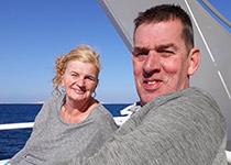 Snorkelen in Hurghada, Rode Zee, Egypte. Seahorse Divers, Nederlandse PADI duikschool. Snorkelen in Hurghada, José en Rob