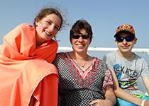 Proefduiken en Snorkelen in Hurghada, Rode Zee, Egypte. Seahorse Divers, Nederlandse PADI duikschool. Proefduiken en Snorkelen in Hurghada, Kim, Anna en Don.