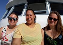 Duiken in Hurghada, Rode Zee, Egypte. Seahorse Divers, Nederlandse PADI duikschool. Duiken in Hurghada, Samantha, Jahmila en Sanne