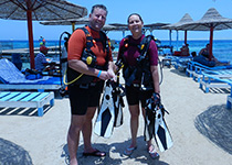 Duiken in Hurghada, Rode Zee, Egypte. Seahorse Divers, Nederlandse PADI duikschool. Duiken in Hurghada, Michael