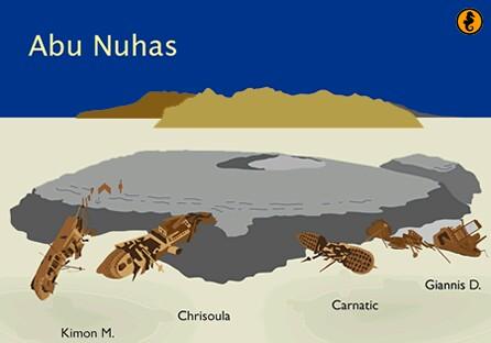 Wrakken en Wrakduiken Egypte, wrakken Abu Nuhas, Rode Zee, Egypte